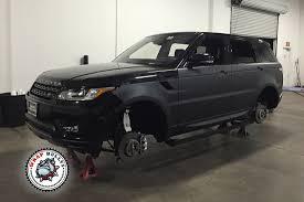 range rover matte black range rover sport wrapped in 3m deep matte black wrap bullys