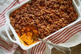 thanksgiving sweet potatoes recipes sweet potato casserole recipe nyt cooking