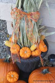 Corn Stalk Decoration Ideas Simple Fall Front Entry Decor