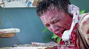 Scream Wazzup Meme - scream movie gifs tenor