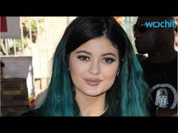 jenner hair extensions jenner rocks icy blue hair extensions plunging white