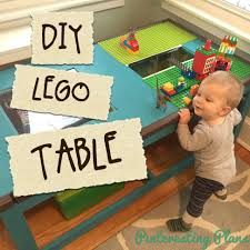 diy lego table pinteresting plans