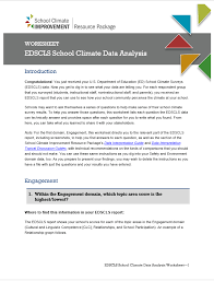climate improvement resource package safe supportive learning