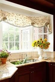 Valances For Bay Windows Inspiration Bay Window Valances Swag Valance With Trim Beautiful Bay Window