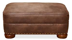 Leather Animal Ottoman by Living Room Ottomans Gallery Furniture