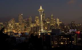 How To String Christmas Tree Lights by Ready To Hang Christmas Lights Try The Space Needle At 600 Feet