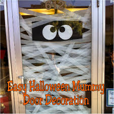 42 homemade halloween door decorations halloween decorations and