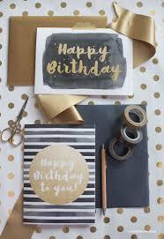 modern happy birthday card lia griffith
