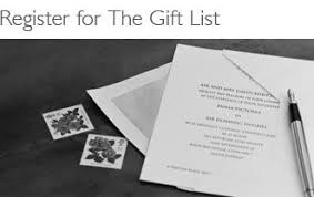 wedding gift list lewis lewis wedding gift list checklist lading for