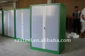 Roll Door Cabinet Office Furniture Translucent Roller Shutter Door Cabinet Steel