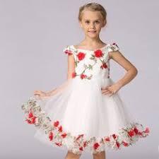 elegant pink kiara love kids party dress baby birthday dresses
