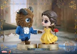 toys unveils beauty beast cosbaby collectible figures