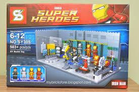 iron man malibu house my brick store sheng yuan u0027s version of iron man lab