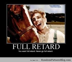You Never Go Full Retard Meme - fresh you never go full retard meme tropic thunder full retard