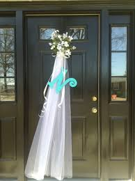 bridal luncheon decorations front door decoration for bridal shower my front door