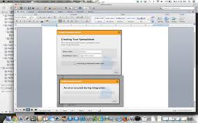 Spreadsheet Integration Bug Spreadsheet Integration Error Occurred After Setting