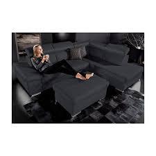 canapé d angle droit ou gauche canapé d angle cuir angle droit ou gauche noir autres mobilier