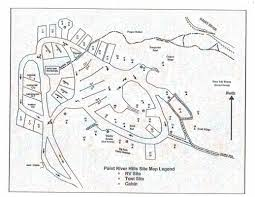Michigan Campgrounds Map by Paint River Hills Campground 4 Photos Crystal Falls Mi