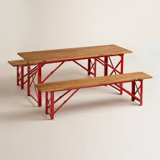 table benches redbird