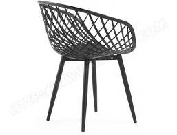 lot 4 chaises pas cher chaise lf lot 4 chaises zayna noir pas cher ubaldi com