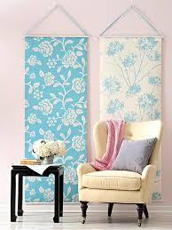Best Ideas For Blank Walls Images On Pinterest Home - Fabric wall designs