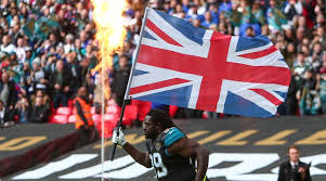 American Flag On Ground On The Ground In The U K Nfl Passion Runs High Si Com