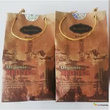 Teh Merah detil produk teh merah organik 100gr
