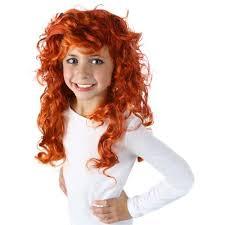Merida Halloween Costume Wig Kids Brave Halloween Costume Fancy Dress