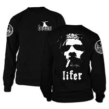 down lifer long sleeve apparel down