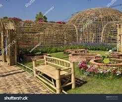 bench bamboo garden bench bamboo chair in gardenoutdoor storage
