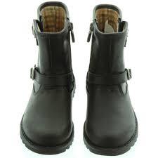 ugg boots sale uk children s ugg harwell biker boots in black in black