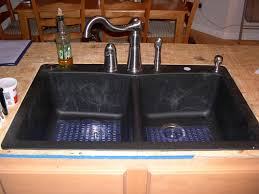 furniture home stunning black kitchen sinks and faucets unique