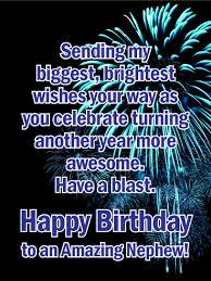 the unforgettable happy birthday cards a blast happy birthday card for nephew your nephew s birthday
