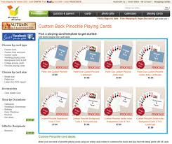 make your own custom back pinochle playing cards tutorials