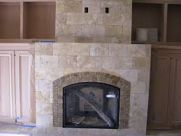 fireplace stacked stone tile design ideas home fireplaces for