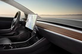 the interior of the tesla model 3 is every minimalist u0027s dream