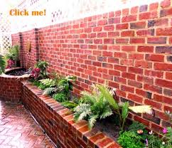 brick garden wall perth salvaged new bricks perth