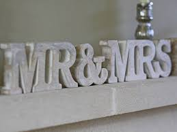 mr and mrs sign for wedding mr and mrs sign by the wedding of my dreams notonthehighstreet