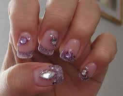 picture 1 of 5 glitter nail designs photo gallery