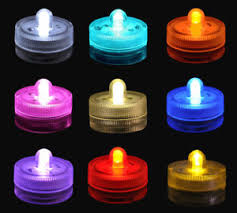 submersible led tea lights waterproof submersible led tea light battery operated wedding party