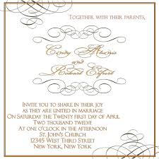 Invitation Card Templates Free For Word 100 Wedding Invitations Template Word Templates Wedding