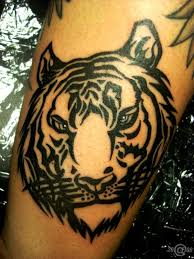 grey ink tiger face tattoo tiger tattoo designs idea pinterest