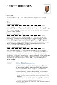 It Security Resume Examples by Network Specialist Resume Samples Visualcv Resume Samples Database