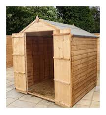 Shiplap Sheds For Sale Mercia 8x6 Shiplap Osb Apex Double Door Shed Oldrids U0026 Dow