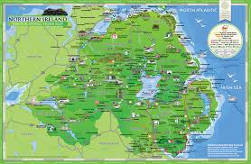 Map Ireland Map Of Northern Ireland