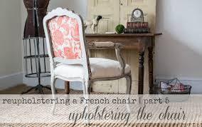reupholstering a french chair part 5 upholstering the loversiq