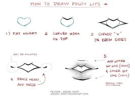sketch lips by azrael santi how to draw pinterest sketches