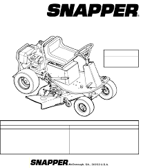 snapper service manual 100 images 07012 snapper service manual