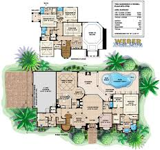 House Plans By Dimensions Gardenia Ii Floor Plan By Weber Design Group Mediterranean Style