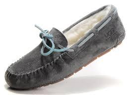 ugg s dakota moccasins sale ugg 5131 dakota flat shoes gray ugg xz10160302 100 00